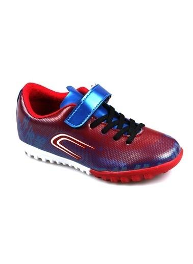 Cool Erkek Çocuk (28-37) Kırmızı Halı Saha Futbol Ayakkabı Kırmızı